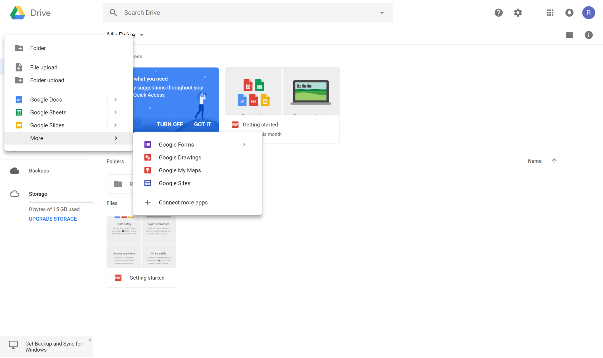 how to download from google drive to computer